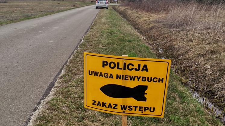 Saperzy w Kosowach. Na miejscu pracowali też policjanci - Zdjęcie główne