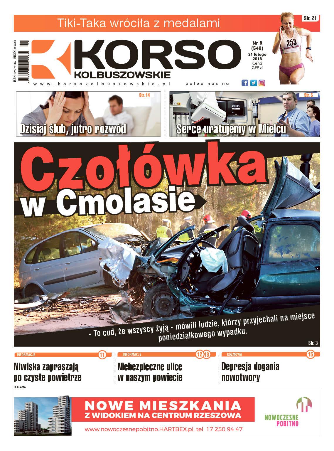 Nowy numer Korso Kolbuszowskie - nr 8/2018 - Zdjęcie główne