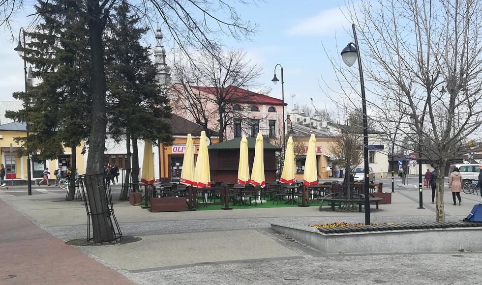 Do centrum Kolbuszowej wracają ogródki piwne  - Zdjęcie główne