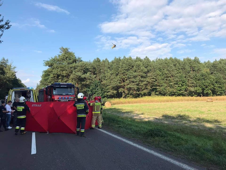 Podkarpacie: Tragedia na drodze! Ciężarówka uderzyła kobietę! - Zdjęcie główne