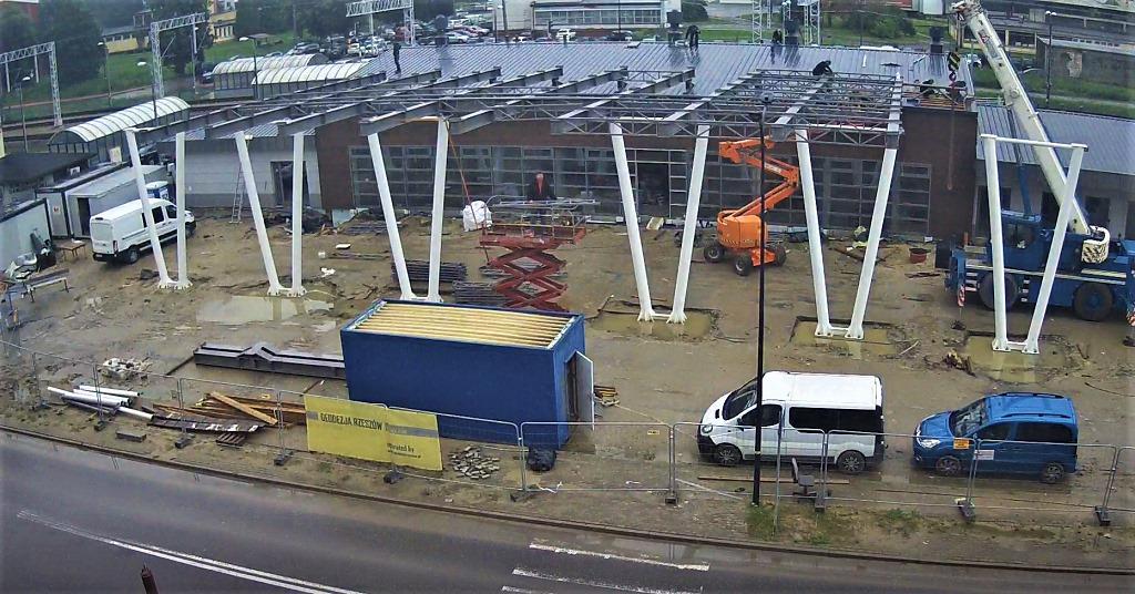 Przebudowa dworca w Kolbuszowej. Jak długo potrwają jeszcze prace? [ZDJĘCIA] - Zdjęcie główne