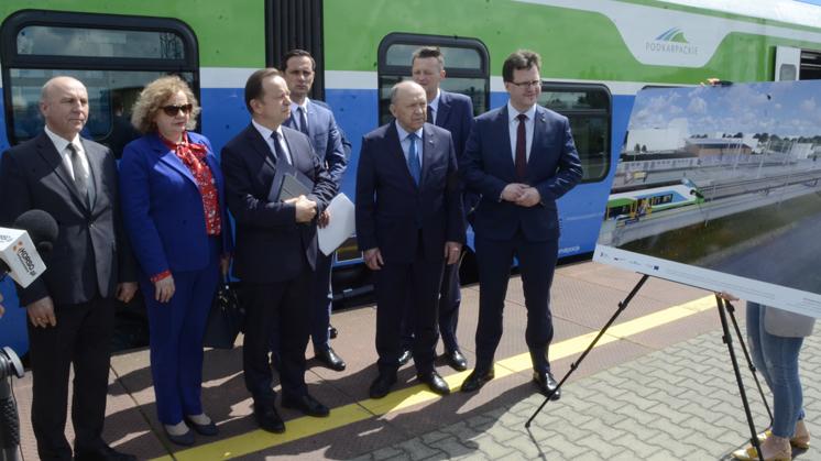 Nowe pociągi na trasie Kolbuszowa - Rzeszów. Od kiedy? [WIDEO] - Zdjęcie główne