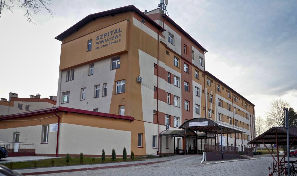 Zakaz odwiedzin w szpitalu w Kolbuszowej   - Zdjęcie główne