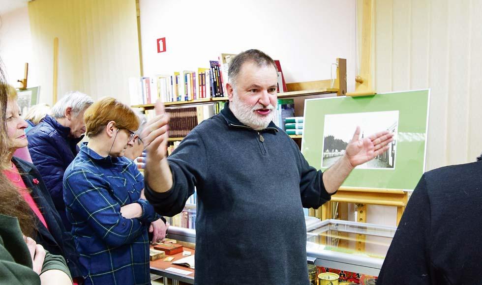 Andrzej i Karol Wesołowscy opowiadali w bibliotece o dawnej Kolbuszowej - Zdjęcie główne