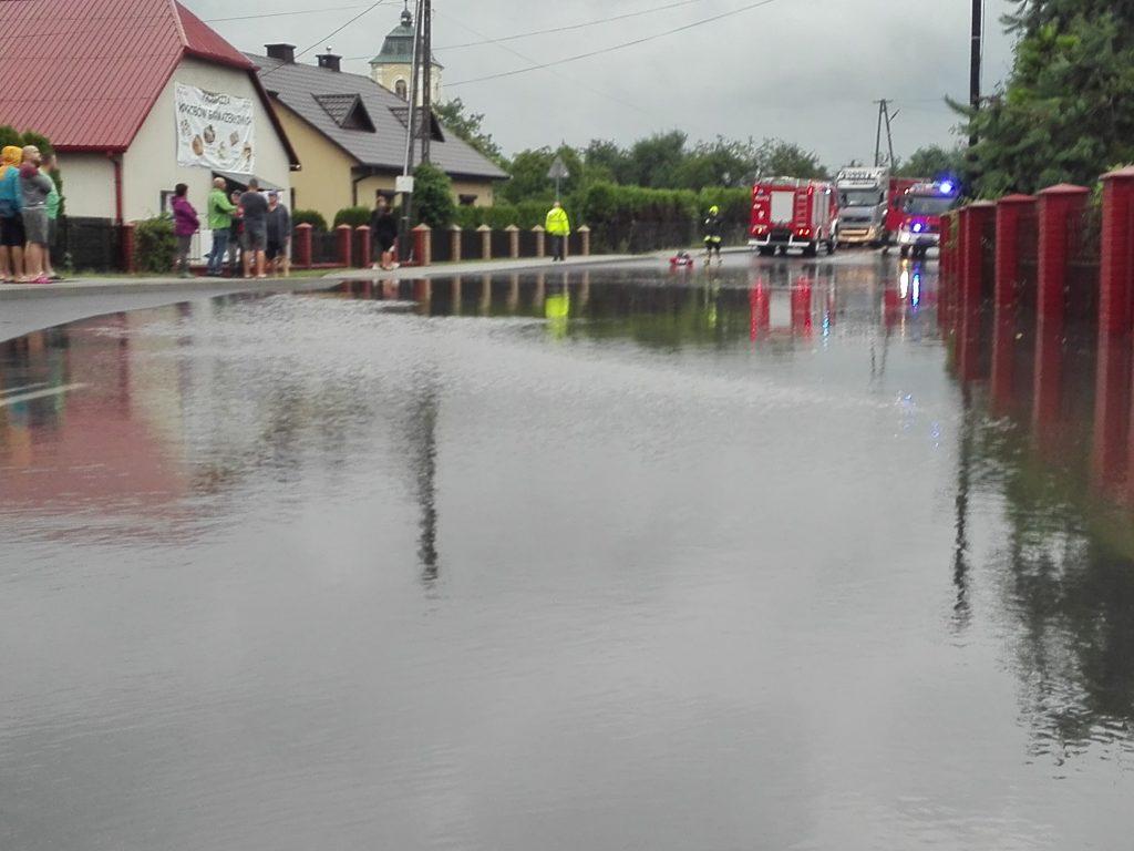 Majdan Królewski. Radni interweniują u posła w sprawie zalanych działek - Zdjęcie główne