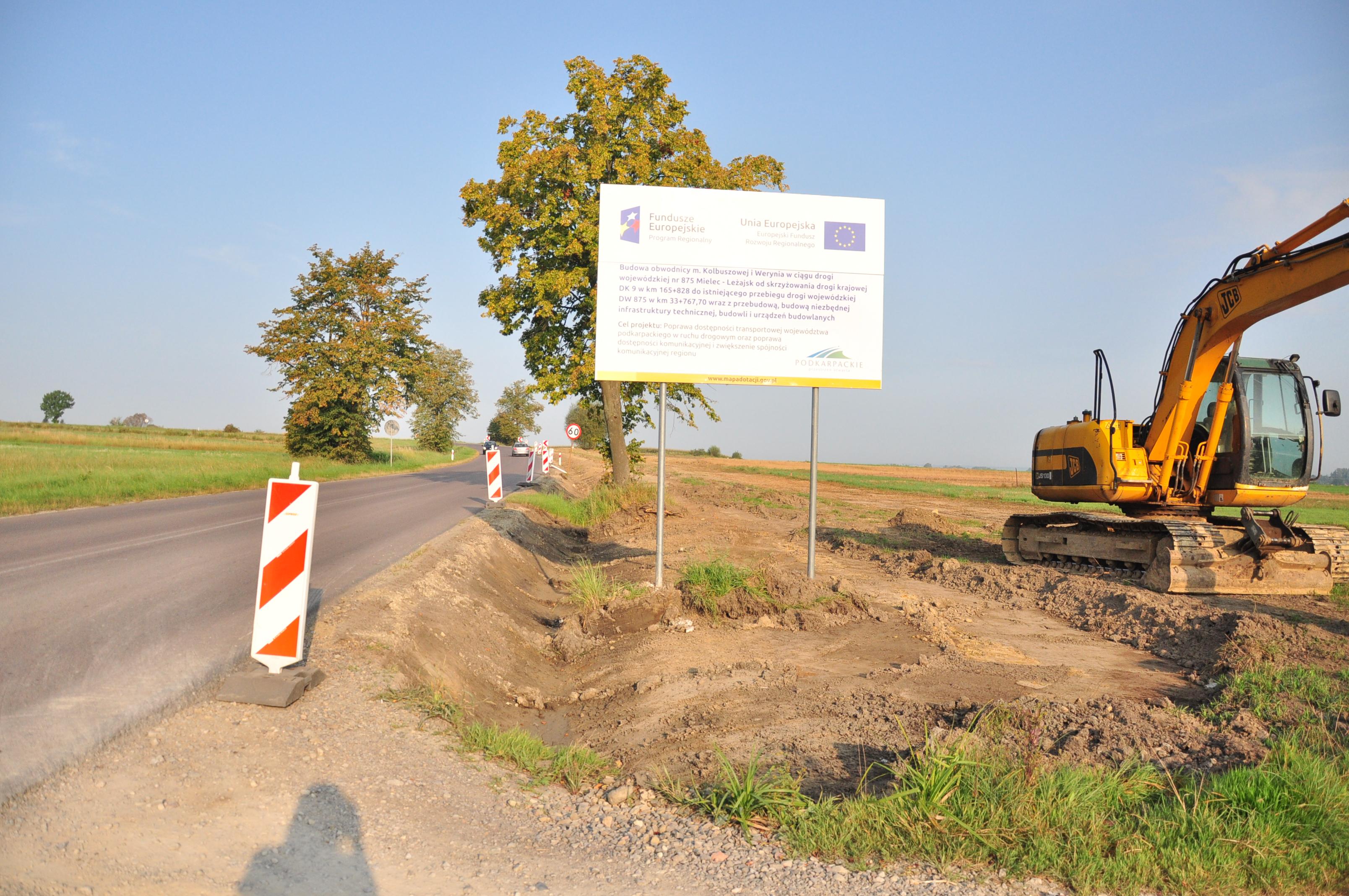 Na terenie budowy obwodnicy Kolbuszowej ustawiony został trzykilometrowy płot ekologiczny. Ma uchronić żaby i inne płazy przed śmiercią na budowie - Zdjęcie główne