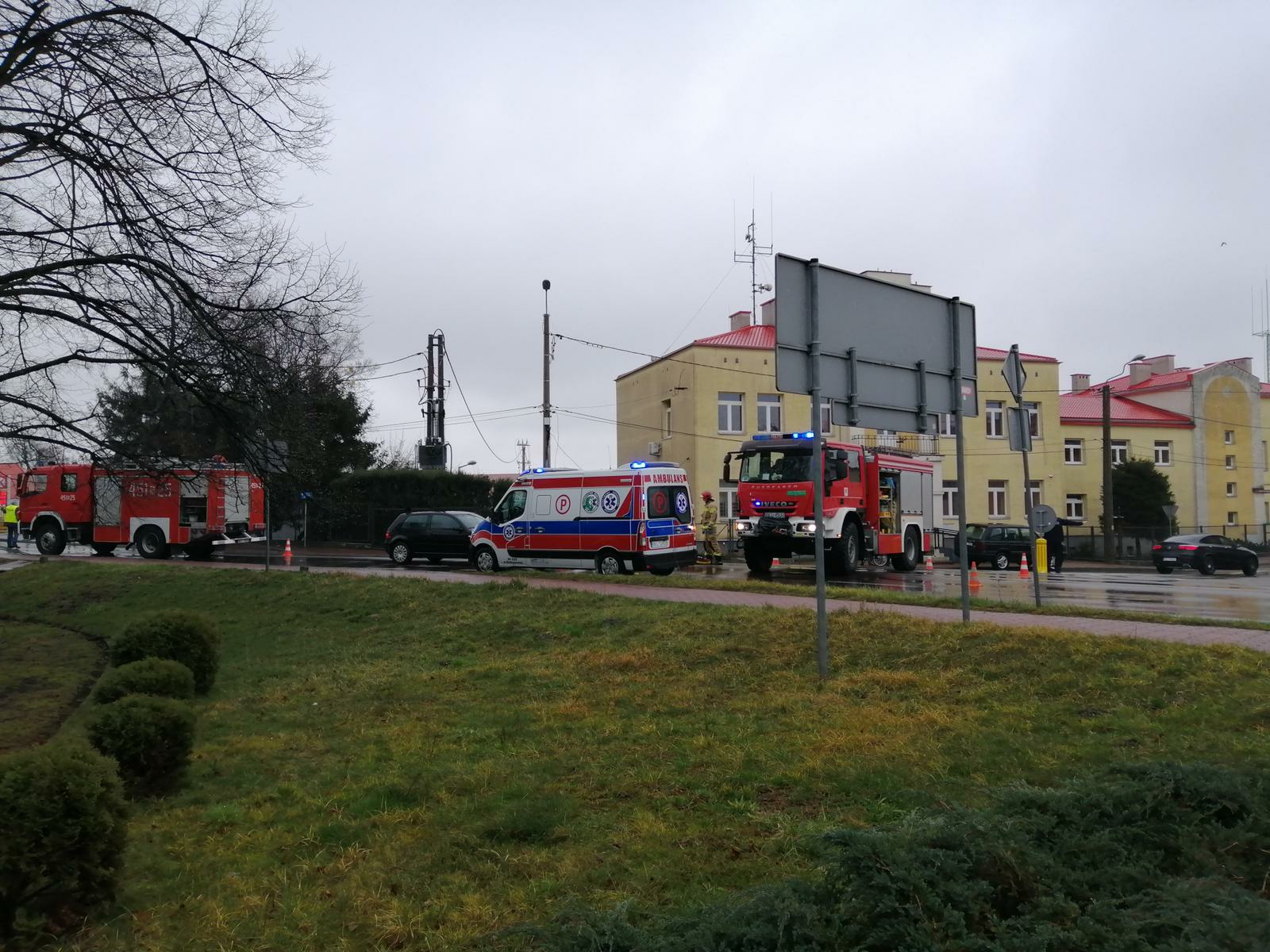 Potrącenie pieszego na kolbuszowskim rynku  AKTUALIZACJA FOTO  - Zdjęcie główne