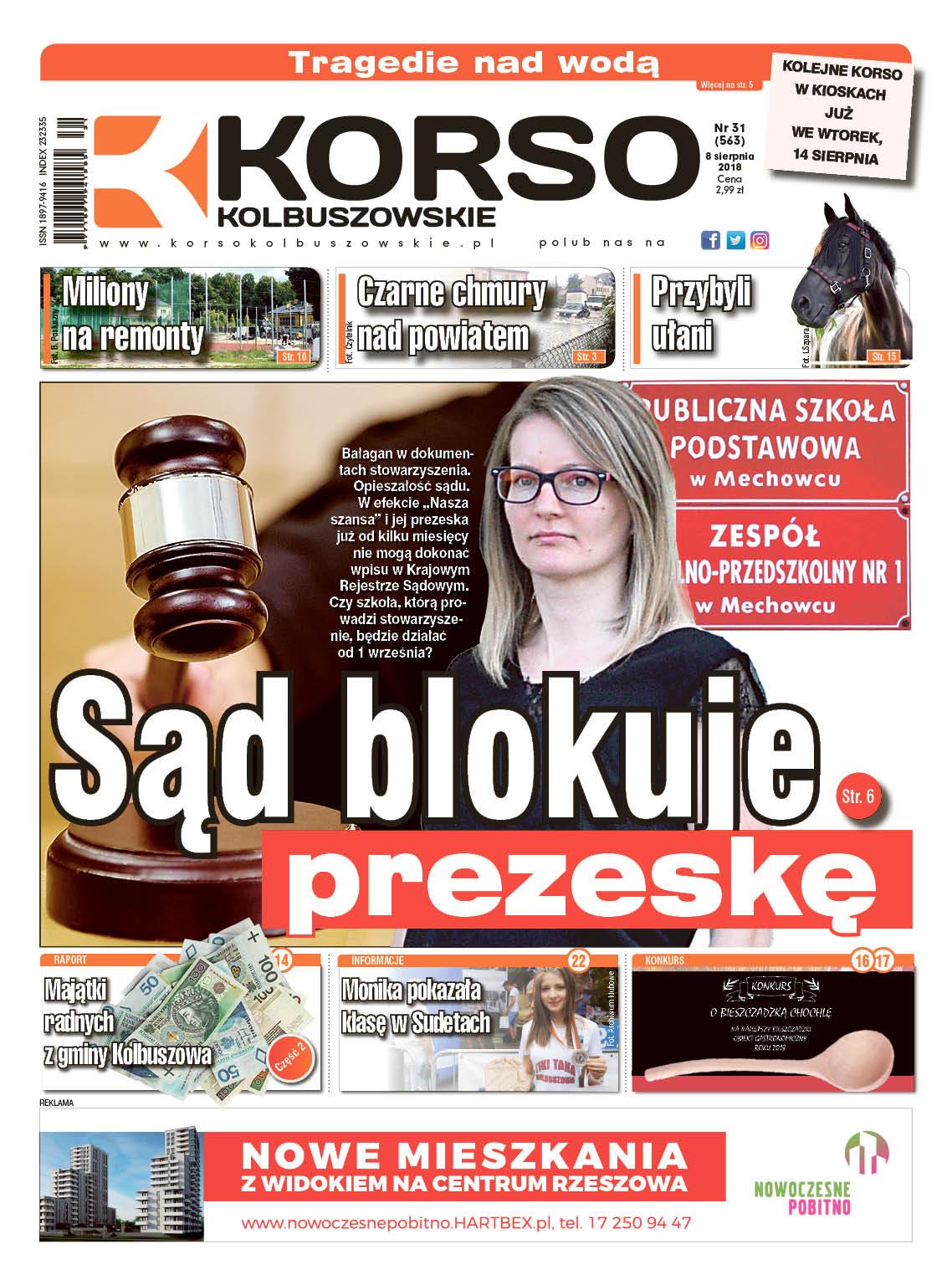 Korso Kolbuszowskie - nr 31/2018 - Zdjęcie główne