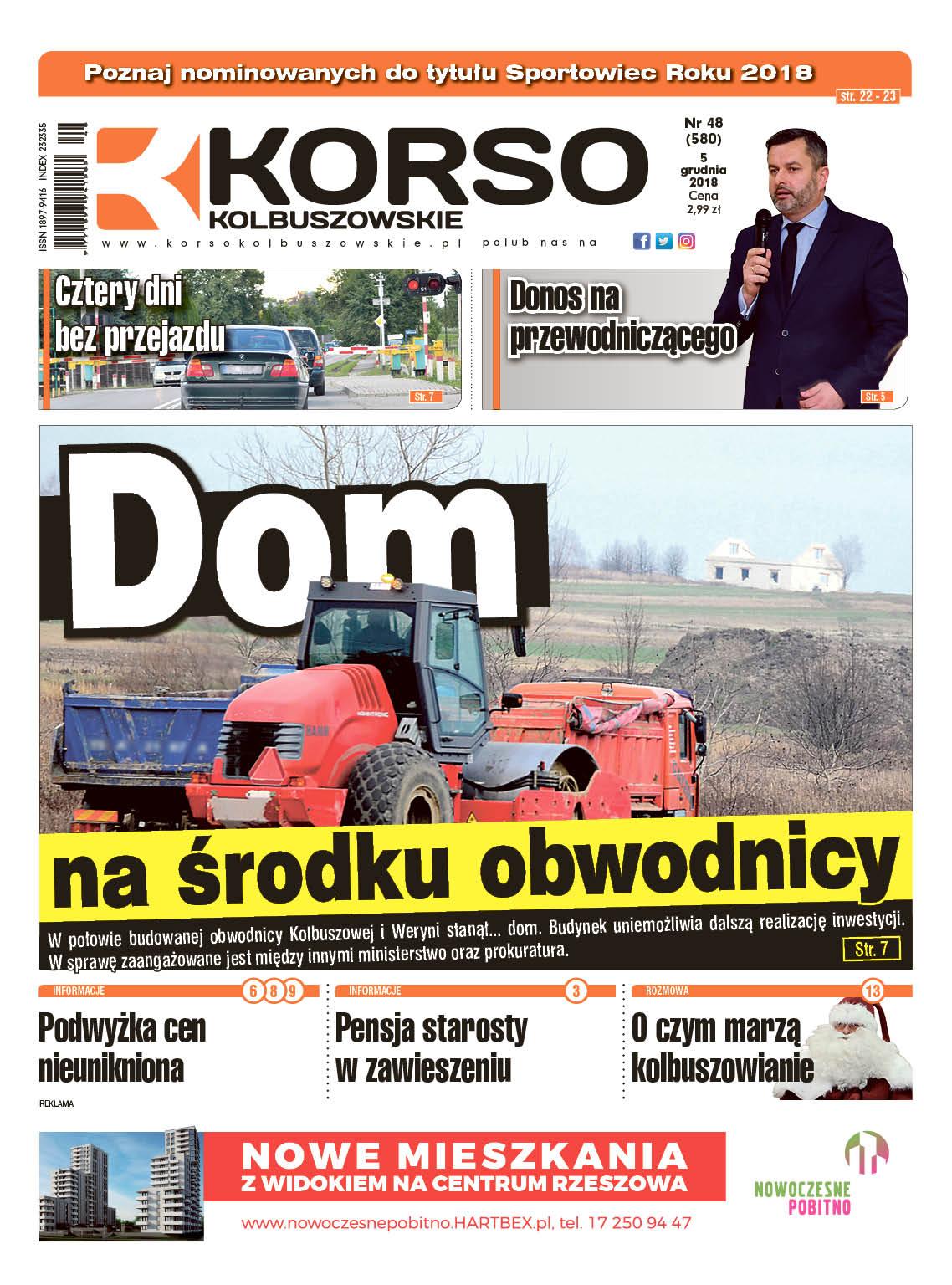 Korso Kolbuszowskie - nr 48/2018 - Zdjęcie główne