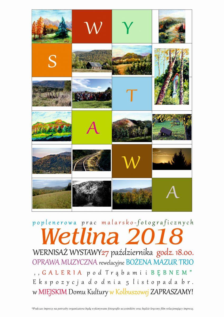 """Przed nami wernisaż wystawy """"Wetlina 2018"""" w Kolbuszowej - Zdjęcie główne"""
