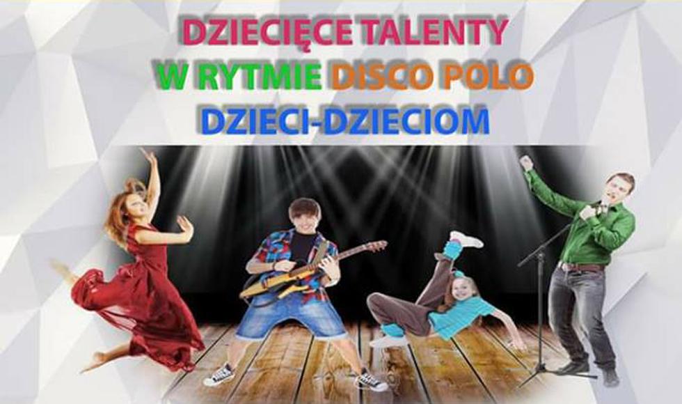 Świerczów. Przegląd dziecięcych talentów w rytmie disco polo dzieci - dzieciom - Zdjęcie główne