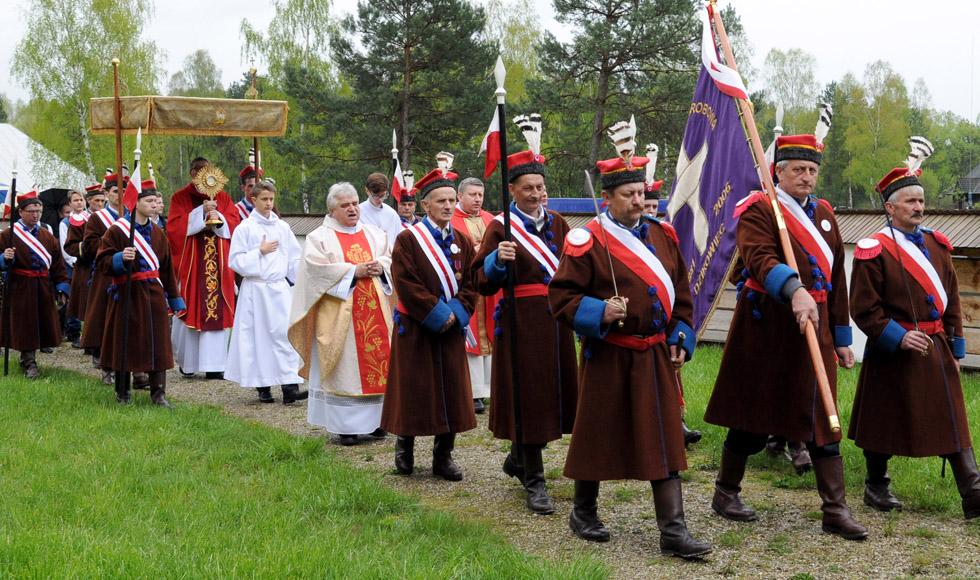 Odpust w kościele pw. św. Marka Ewangelisty w skansenie w Kolbuszowej  - Zdjęcie główne