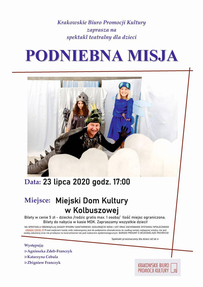 Wyjątkowe przedstawienie dla dzieci w Kolbuszowskim MDK - Zdjęcie główne