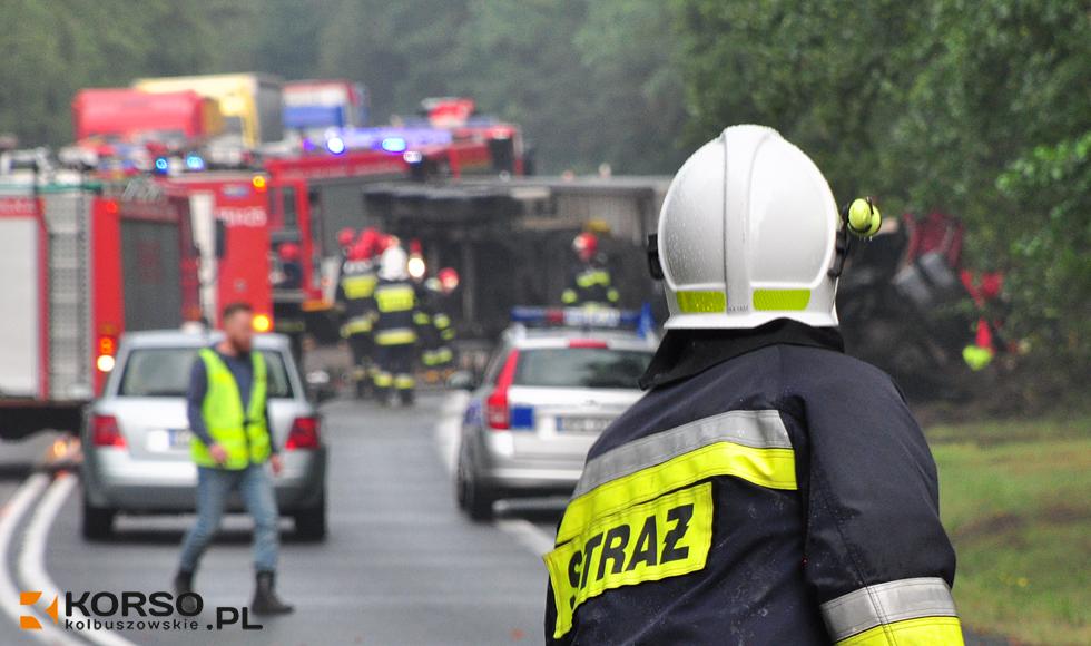 Śmiertelny wypadek w Widełce na drodze nr 9 [ZDJĘCIA] - Zdjęcie główne