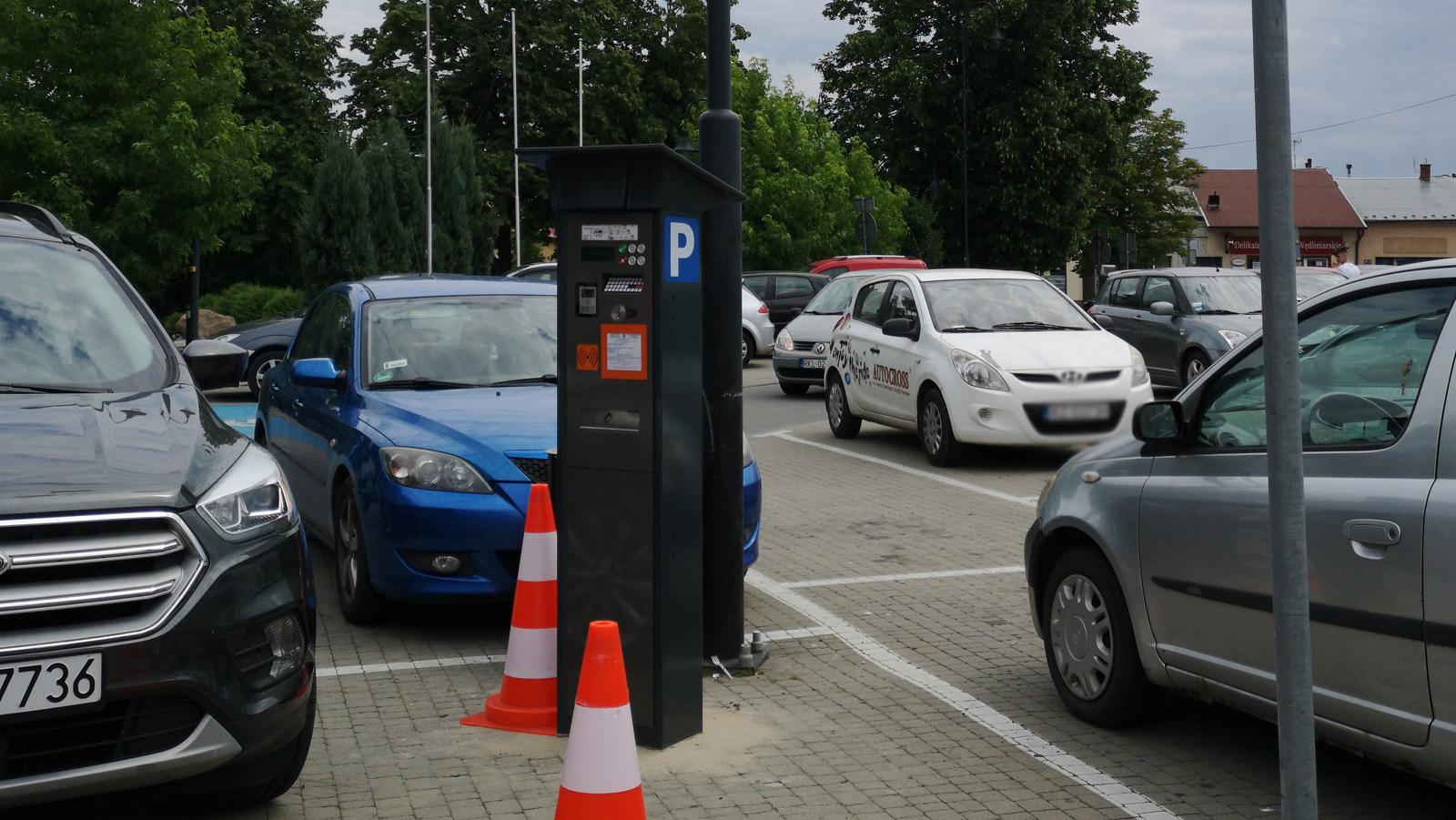 Czwarty parkomat na kolbuszowskim rynku [MAPA] - Zdjęcie główne