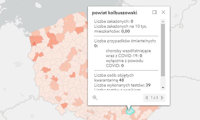 Nowe zakażenia Covid-19 w kraju i na Podkarpaciu [poniedziałek - 11 października] - Zdjęcie główne