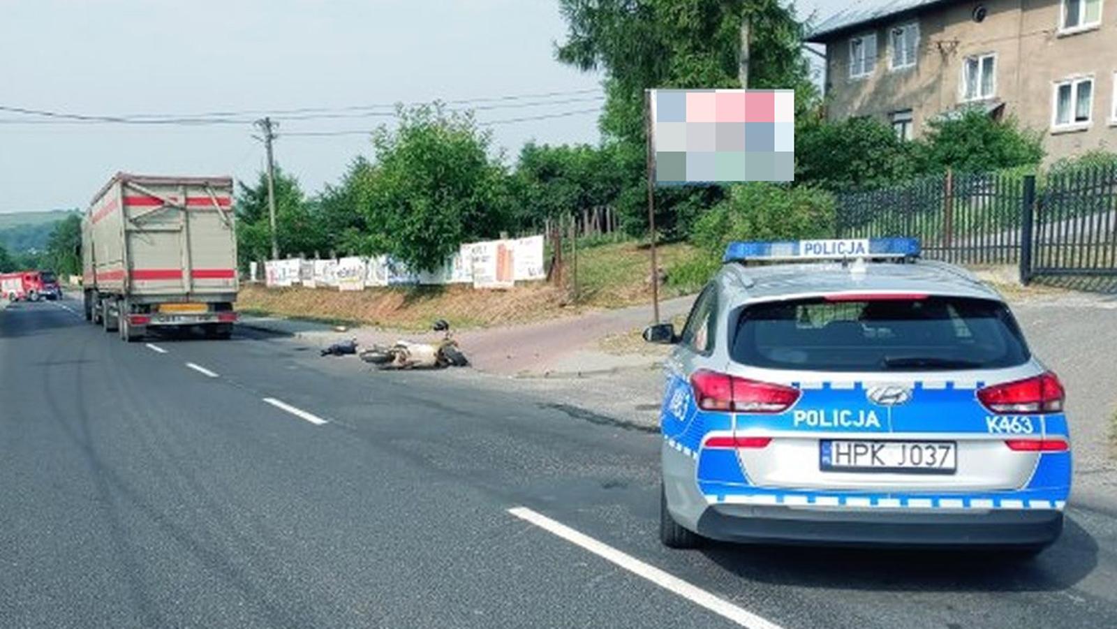 Podkarpacie: Śmierć na drodze. 93-latek kierował skuterem [MAPA] - Zdjęcie główne