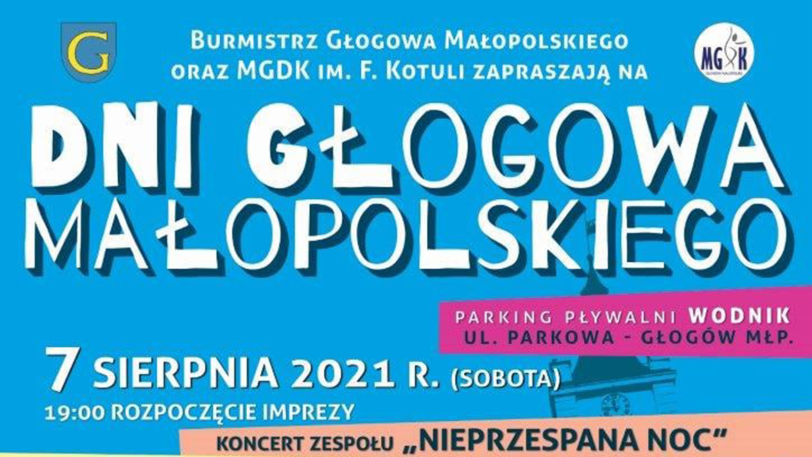 Z regionu: Dni Głogowa Małopolskiego 2021. Wystąpi Kamil Bednarek [PROGRAM] - Zdjęcie główne