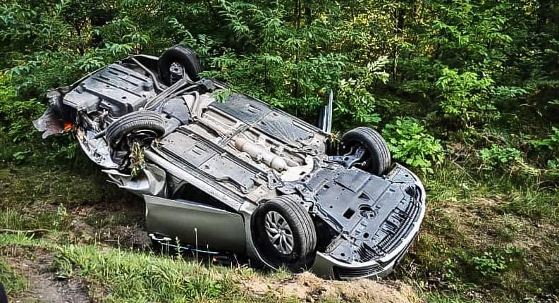 Po wypadku całkowicie zablokowana droga relacji Kolbuszowa - Mielec |ZDJĘCIA| - Zdjęcie główne
