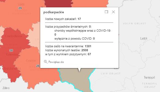 Zakażenia koronawirusem na Podkarpaciu [piątek - 11 czerwca] - Zdjęcie główne