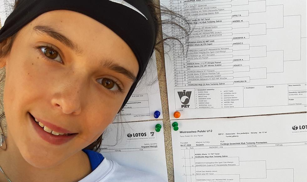 Oliwia Sybicka najlepsza z najmłodszych - Zdjęcie główne
