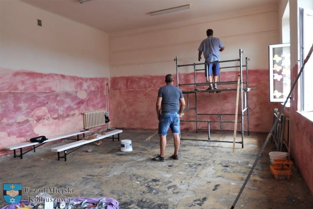 """Trwa remont w kolbuszowskiej """"Dwójce"""" [ZDJĘCIA] - Zdjęcie główne"""
