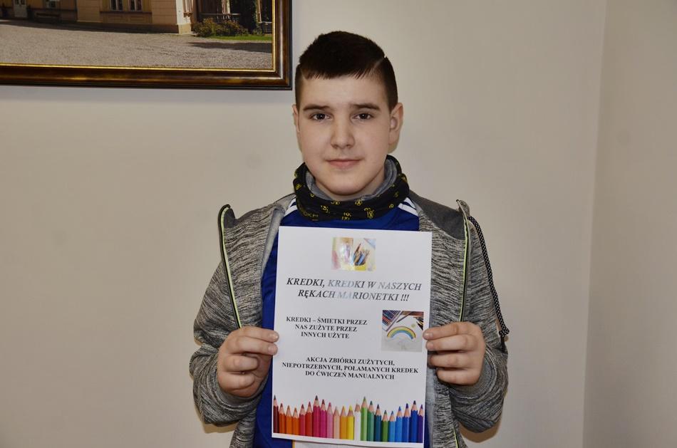 Akcja zbierania kredek dla niepełnosprawnych. Pomóż i ty! [PLAKAT] - Zdjęcie główne