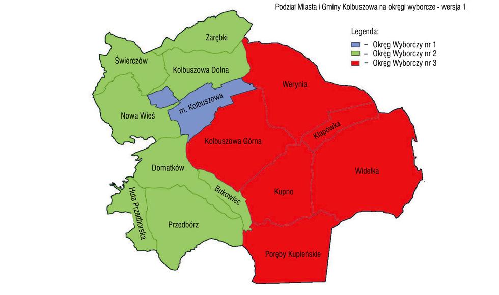 Radni miejscy podzielili gminę Kolbuszowa na okręgi wyborcze  - Zdjęcie główne