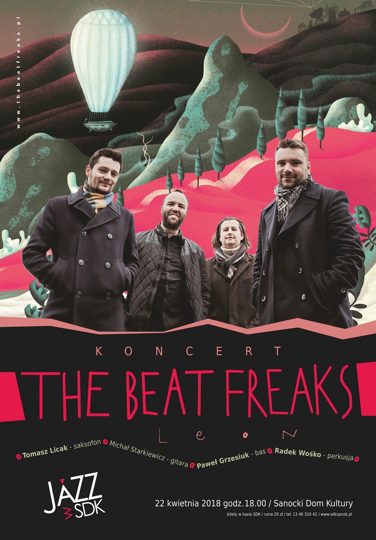 """Koncert """"THE BEAT FREAKS"""" w Sanoku - Zdjęcie główne"""
