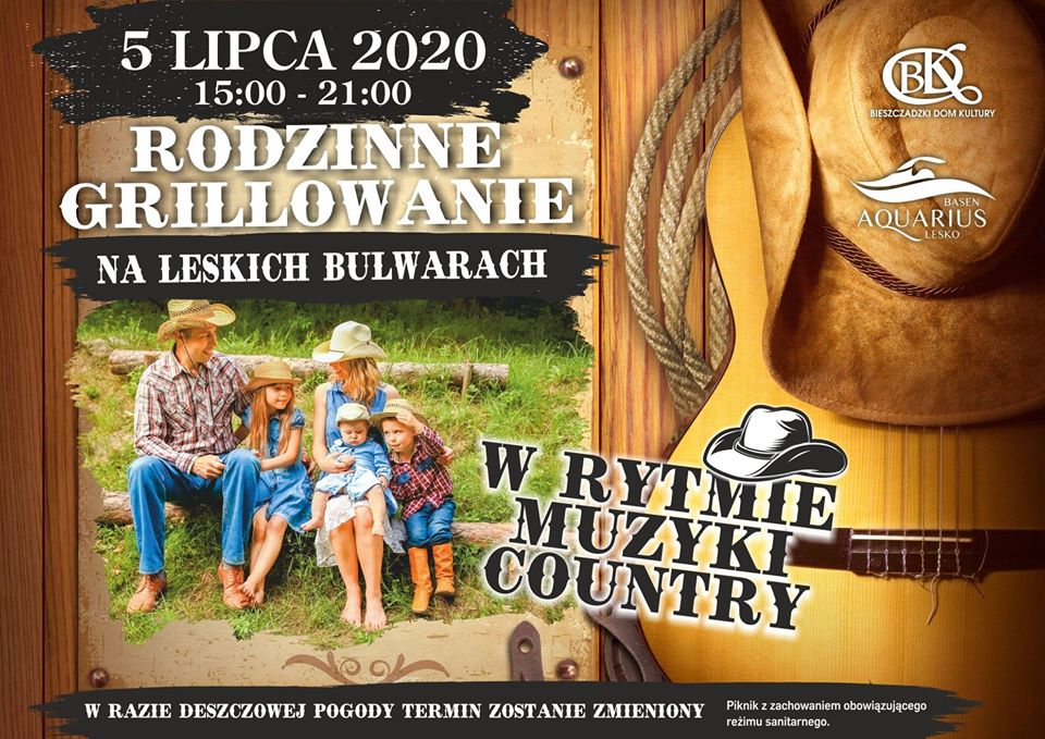 Rodzinne grillowanie w rytmach country zamiast Festiwalu Country w Bieszczadach  - Zdjęcie główne