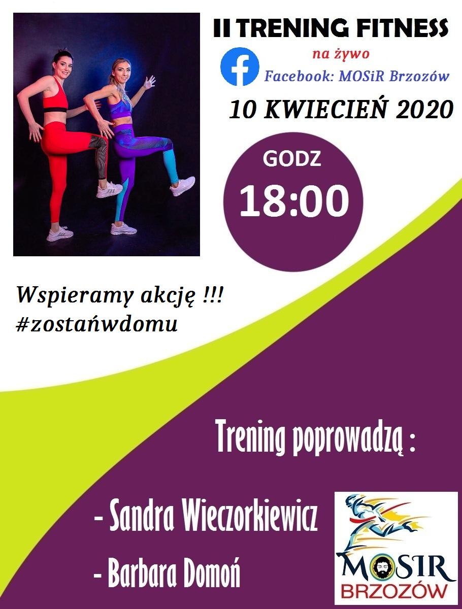MOSiR Brzozów zaprasza na II Trening Fitness NA ŻYWO - Zdjęcie główne