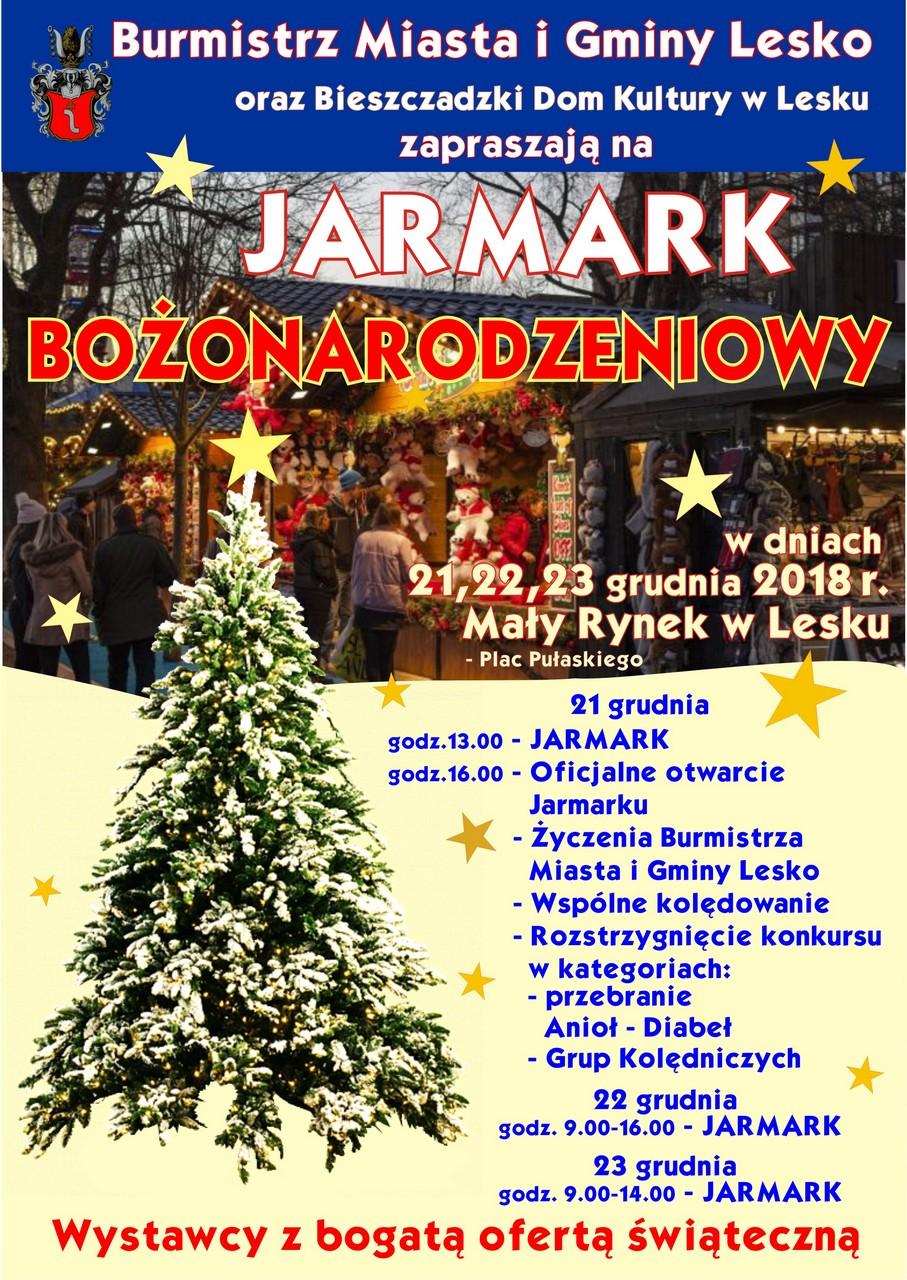 Jarmark Bożonarodzeniowy w Lesku - Zdjęcie główne
