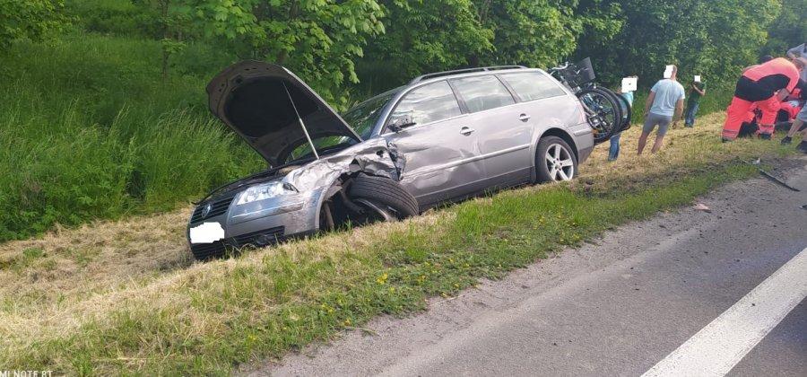 Straciła panowanie nad pojazdem i doprowadziła do zderzenia [ZDJĘCIA] - Zdjęcie główne
