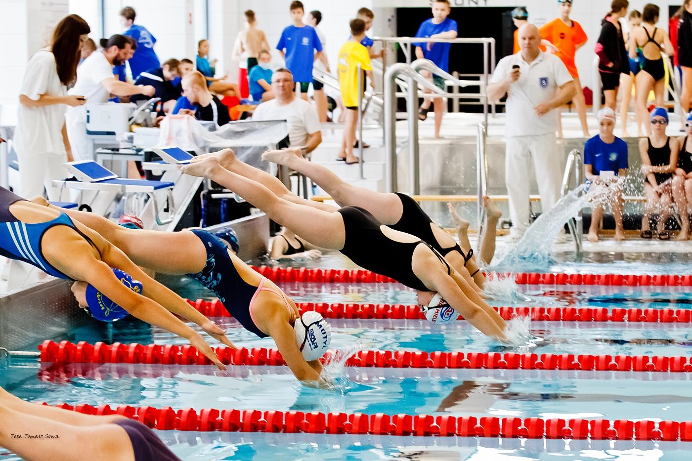 SANOK. Podkarpacka Liga Pływacka Dzieci [FOTORELACJA+FILM] - Zdjęcie główne