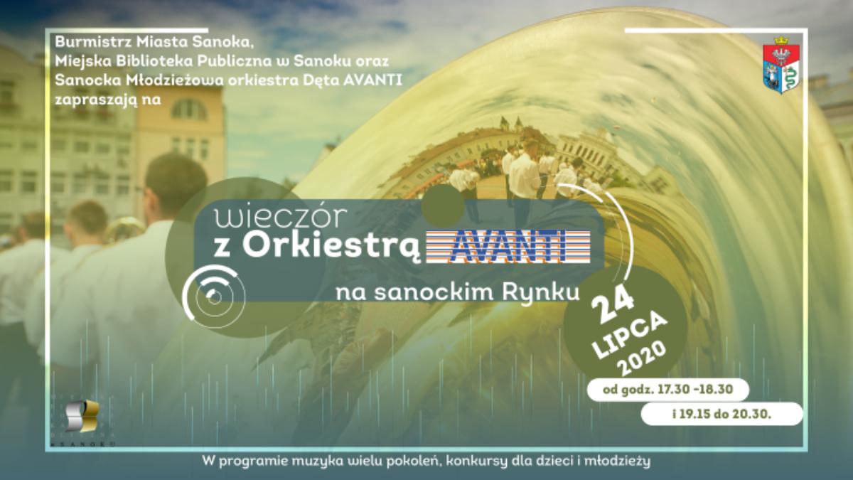 Sanok: Przeżyj niezapomniany wieczór z orkiestrą Avanti - Zdjęcie główne