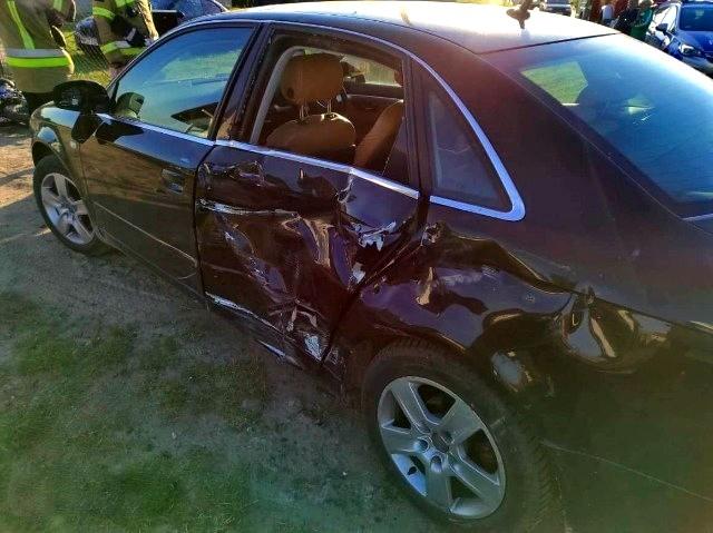 15-letni motocyklista poruszał się bez uprawnień. Spowodował wypadek w którym ucierpiało 2-letnie dziecko [ZDJĘCIA] - Zdjęcie główne