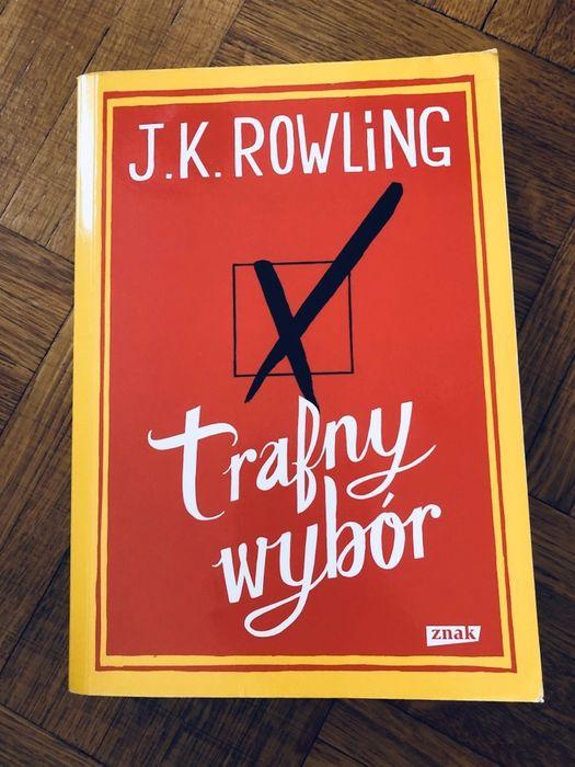 """CZYTAMY KSIĄŻKI: J. K.  Rowling - """"Trafny wybór"""" [RECENZJA] - Zdjęcie główne"""