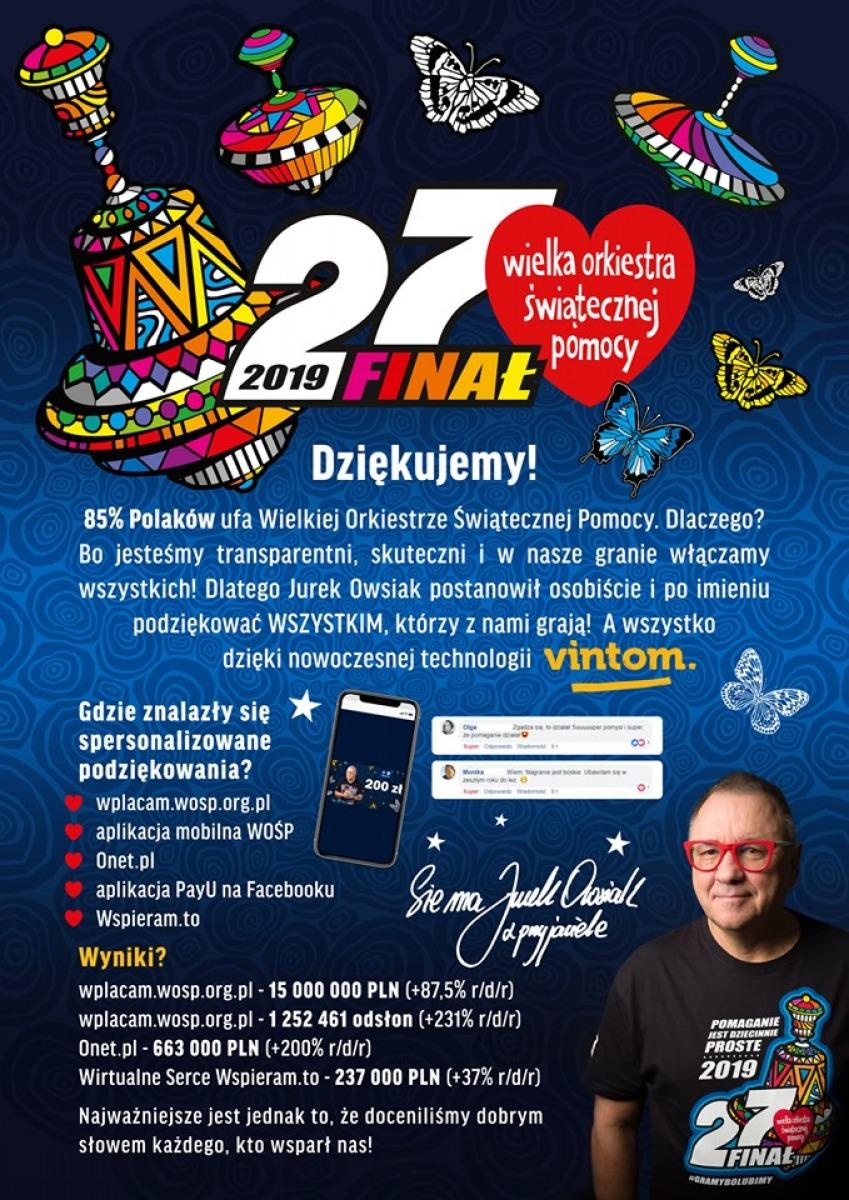WOŚP nominowana w konkursie Złote Spinacze 2019 - Oddaj głos na WOŚP! - Zdjęcie główne