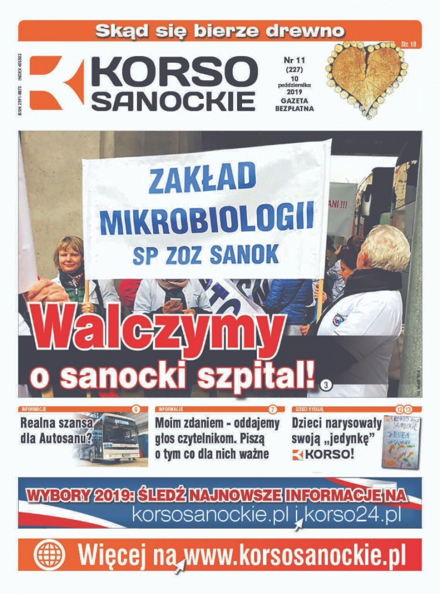 Nowy numer Korso Sanockiego - nr 11/2019 - Zdjęcie główne