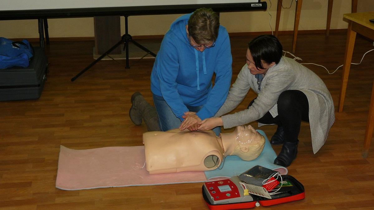 Warsztaty Pierwszej Pomocy dla Osób Niesłyszących - Zdjęcie główne