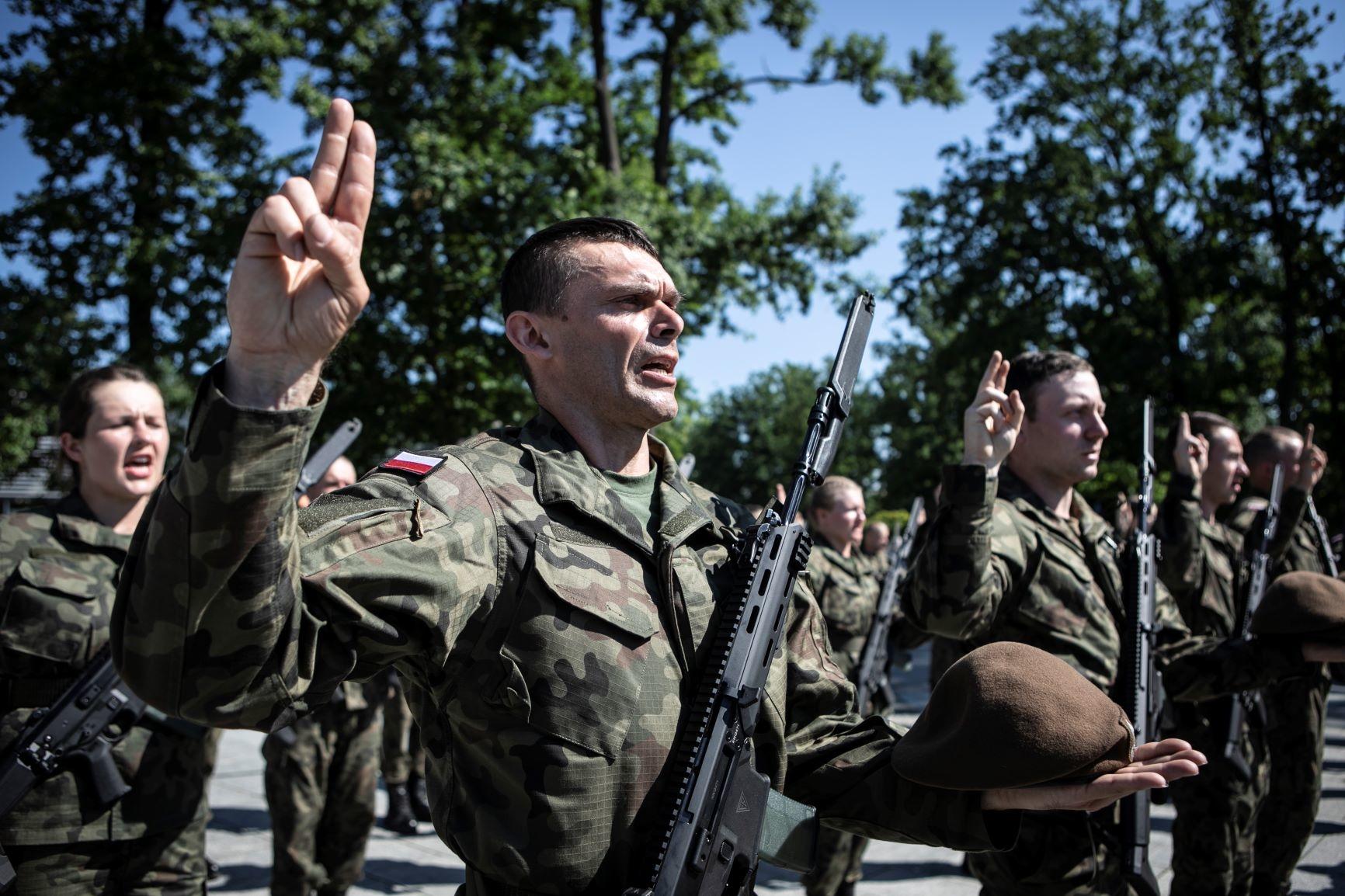 Terytorialsi będą przysięgać w Jarosławiu  - Zdjęcie główne