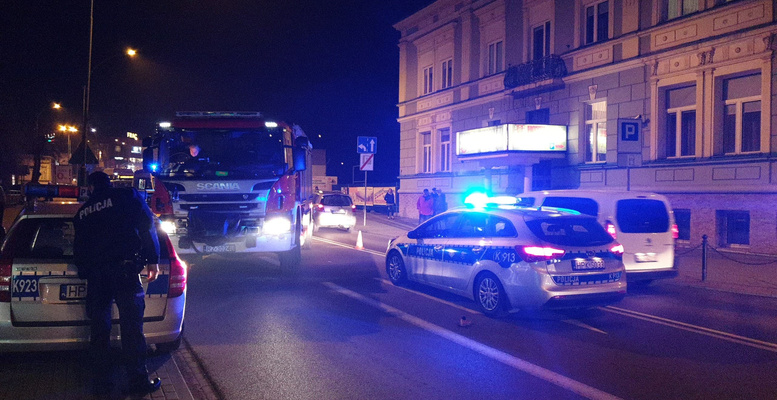 Z OSTATNIEJ CHWILI: Potrącenie pieszego na ul. Jagiellońskiej [FOTO+VIDEO] - Zdjęcie główne