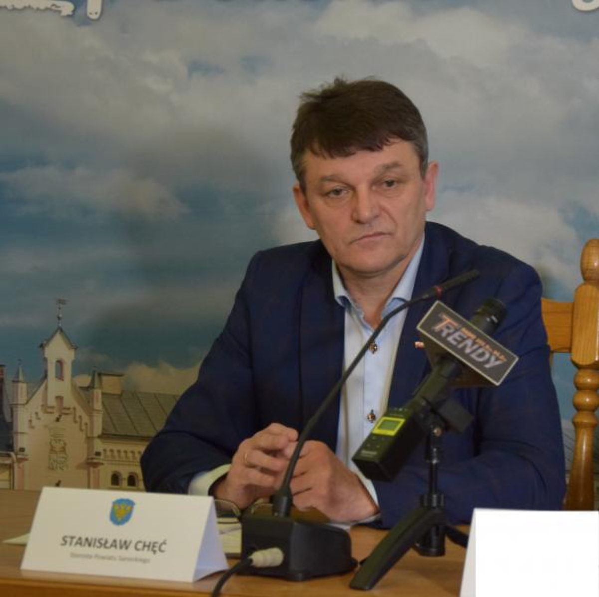 Sanok. Stanowisko Stanisława Chęcia, starosty sanockiego - Zdjęcie główne