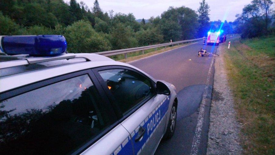 Wypadek w Smolniku. Potrącenie rowerzystki - Zdjęcie główne