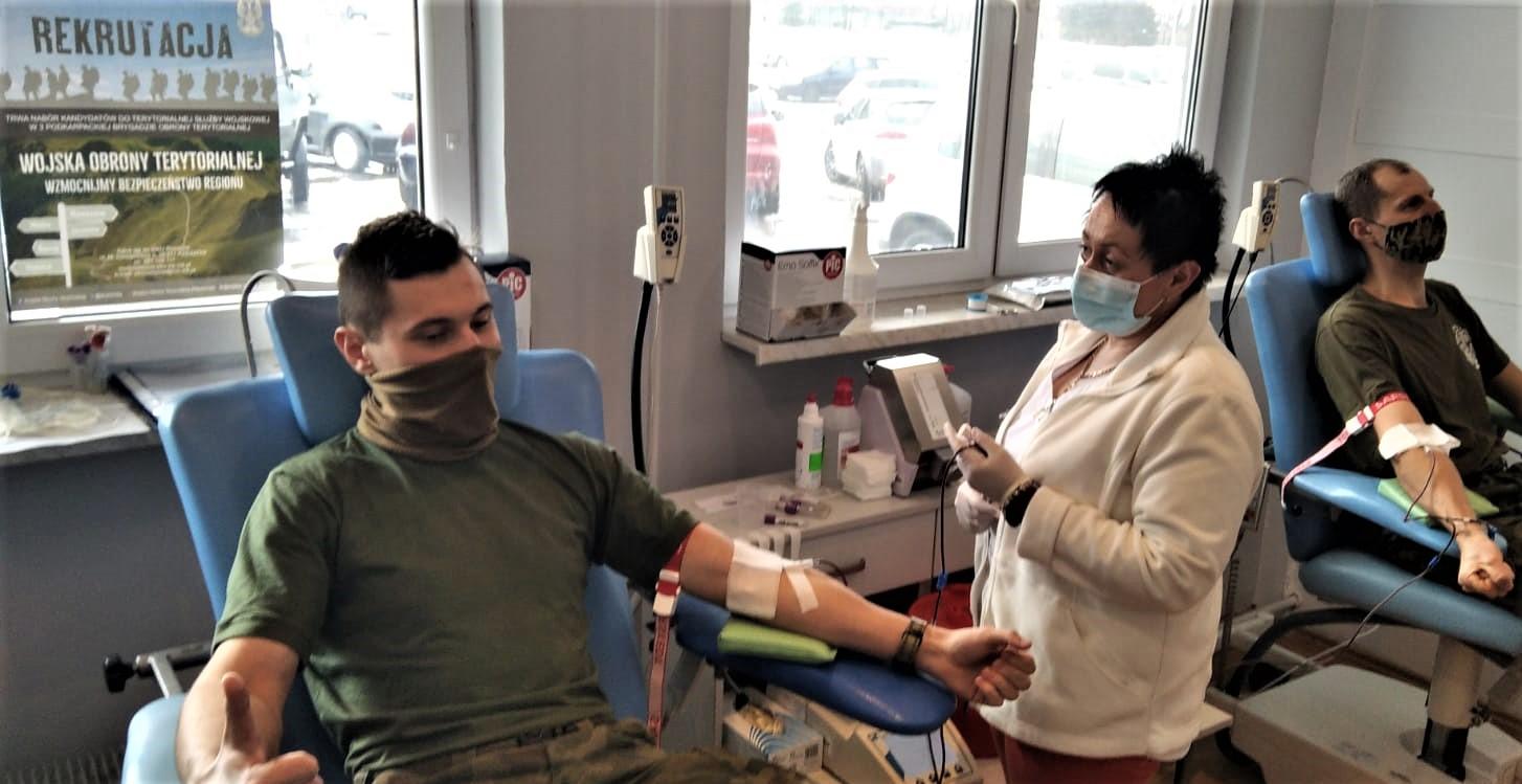 Terytorilasi przelali krew dla potrzebujących - Zdjęcie główne