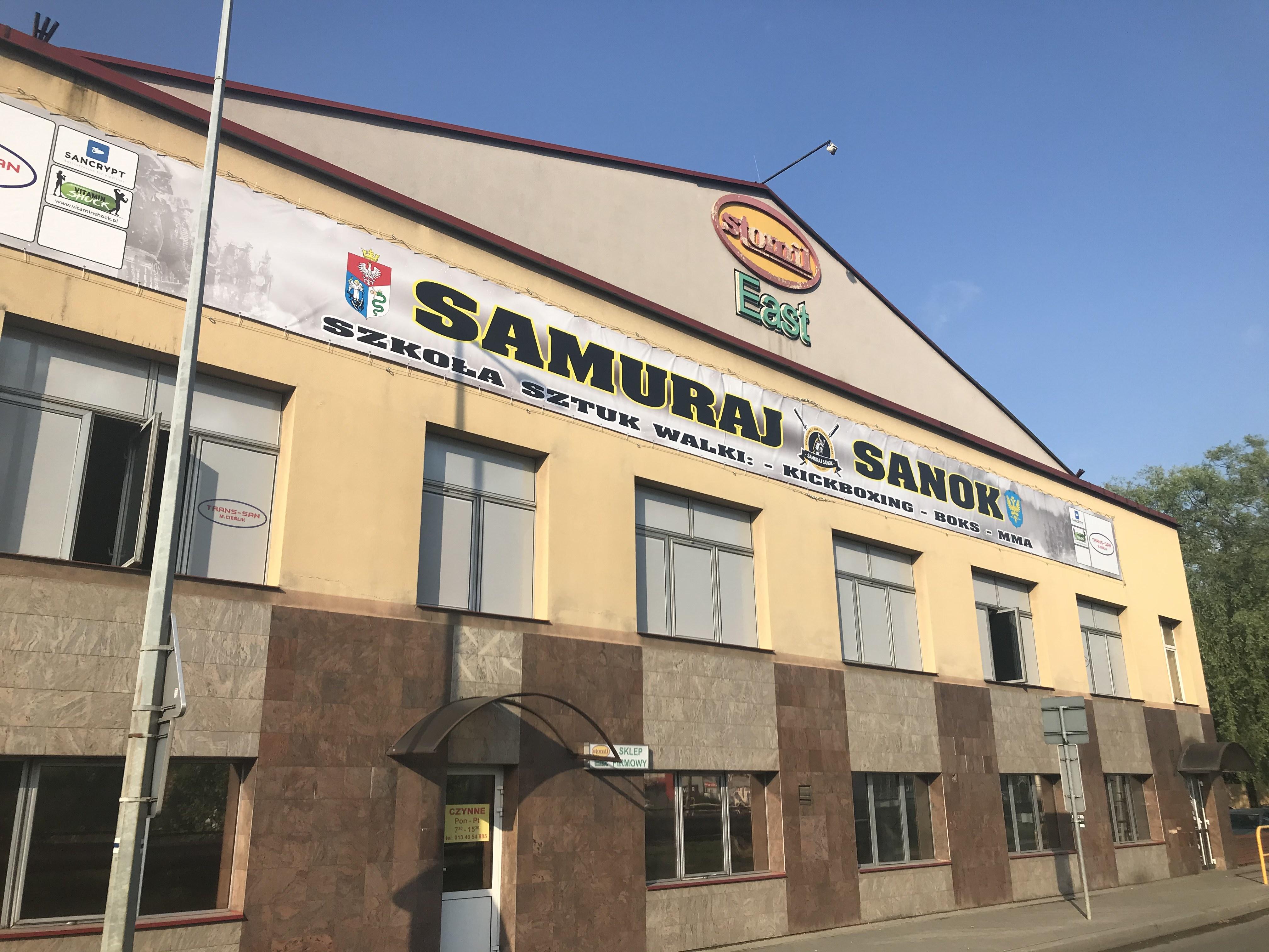 Profesjonalna ocena motoryczna w klubie sportów walki Samuraj Trans-San Sanok - Zdjęcie główne