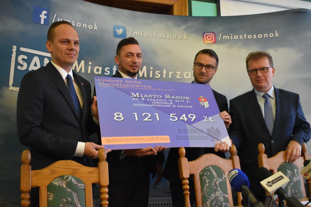 Briefing prasowy burmistrza Tomasza Matuszewskiego na temat inwestycji dla Sanoka [VIDEO] - Zdjęcie główne
