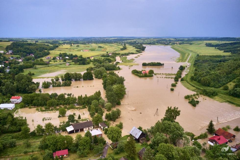 Uwaga! Prognozowane gwałtowne wzrosty stanów wody - Zdjęcie główne