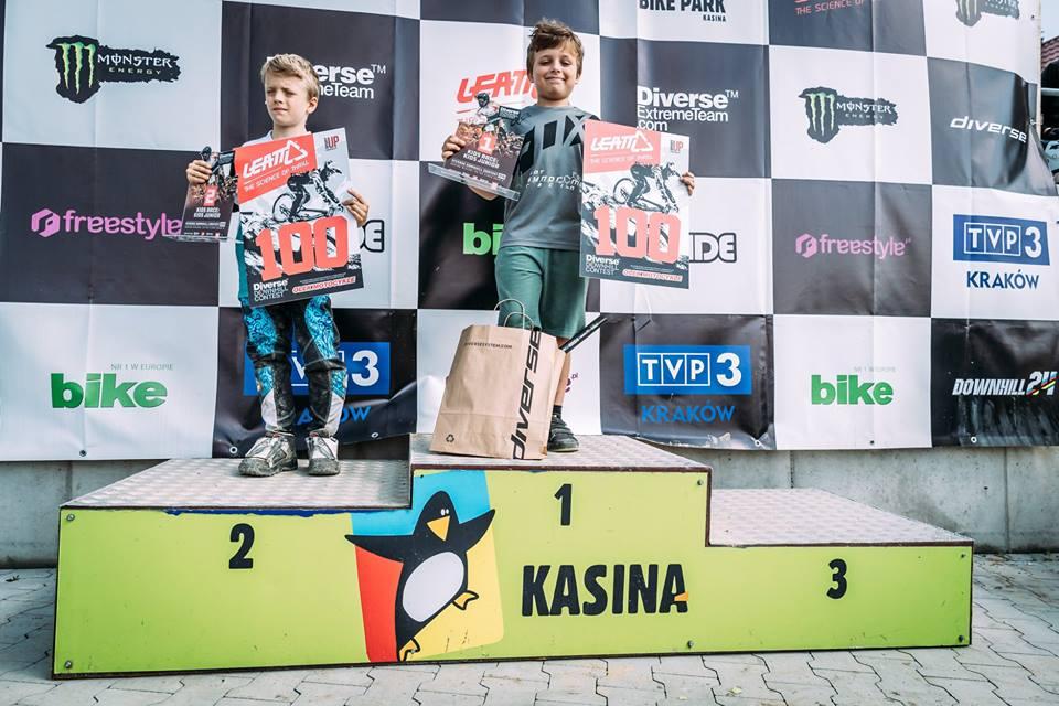 SANOK: Sanoczanie na podium w Mistrzostwach Polski w downhillu FOTO - Zdjęcie główne