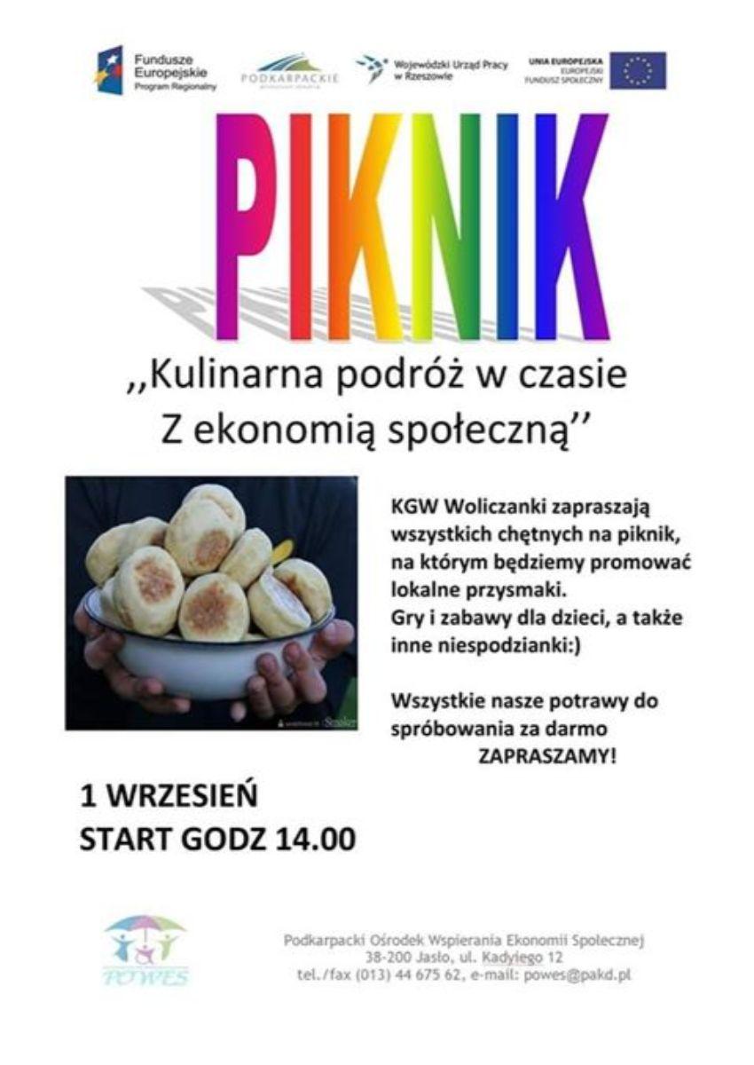 Piknik w Wolicy!  - Zdjęcie główne